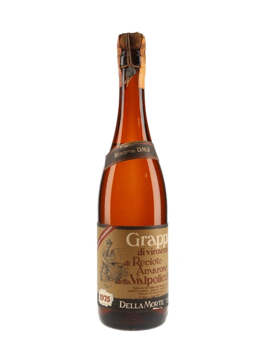Della Morte Grappa 1975 Amarone Della Valpolicella  75cl / 43%