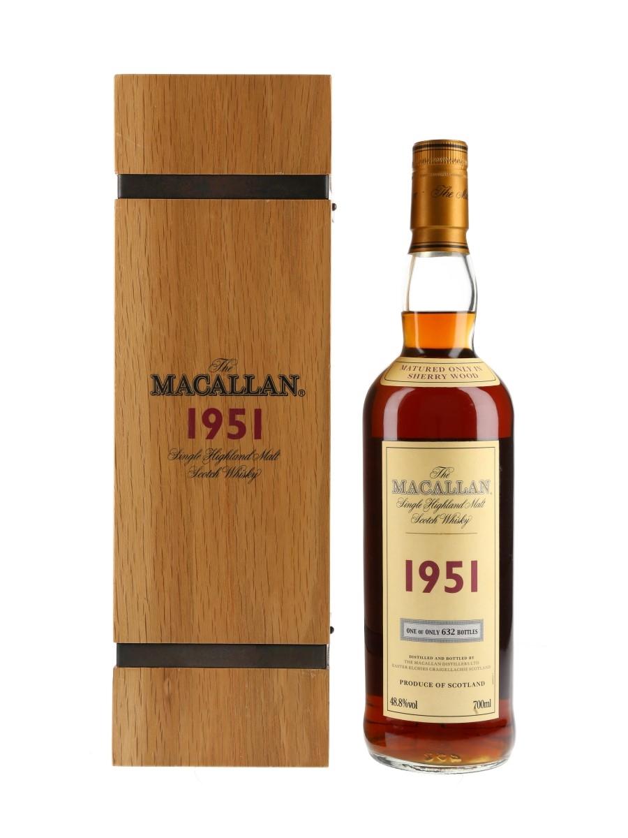 Macallan 1951 Bottled 2001 70cl / 48.8%