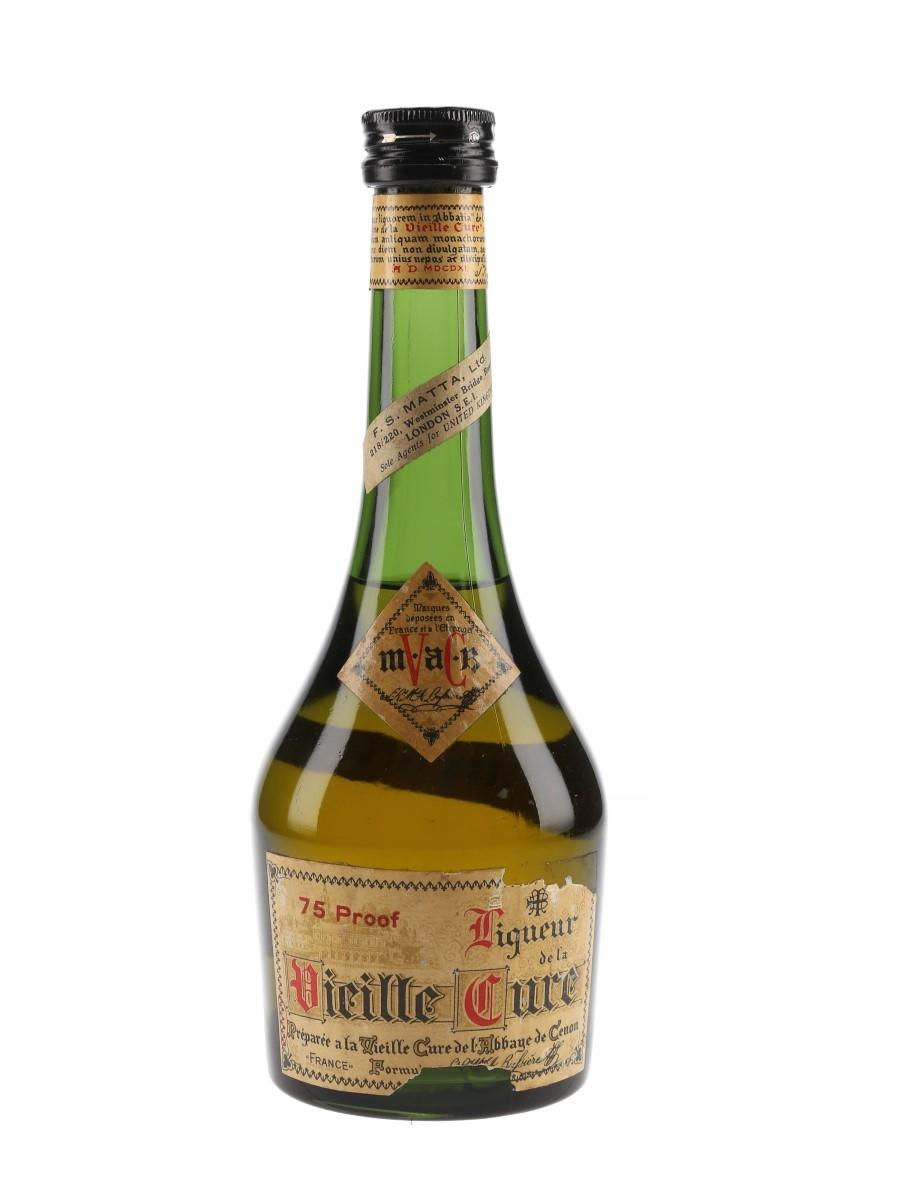 Vieille Cure Liqueur Bottled 1960s - Matta 34.8cl / 42.8%