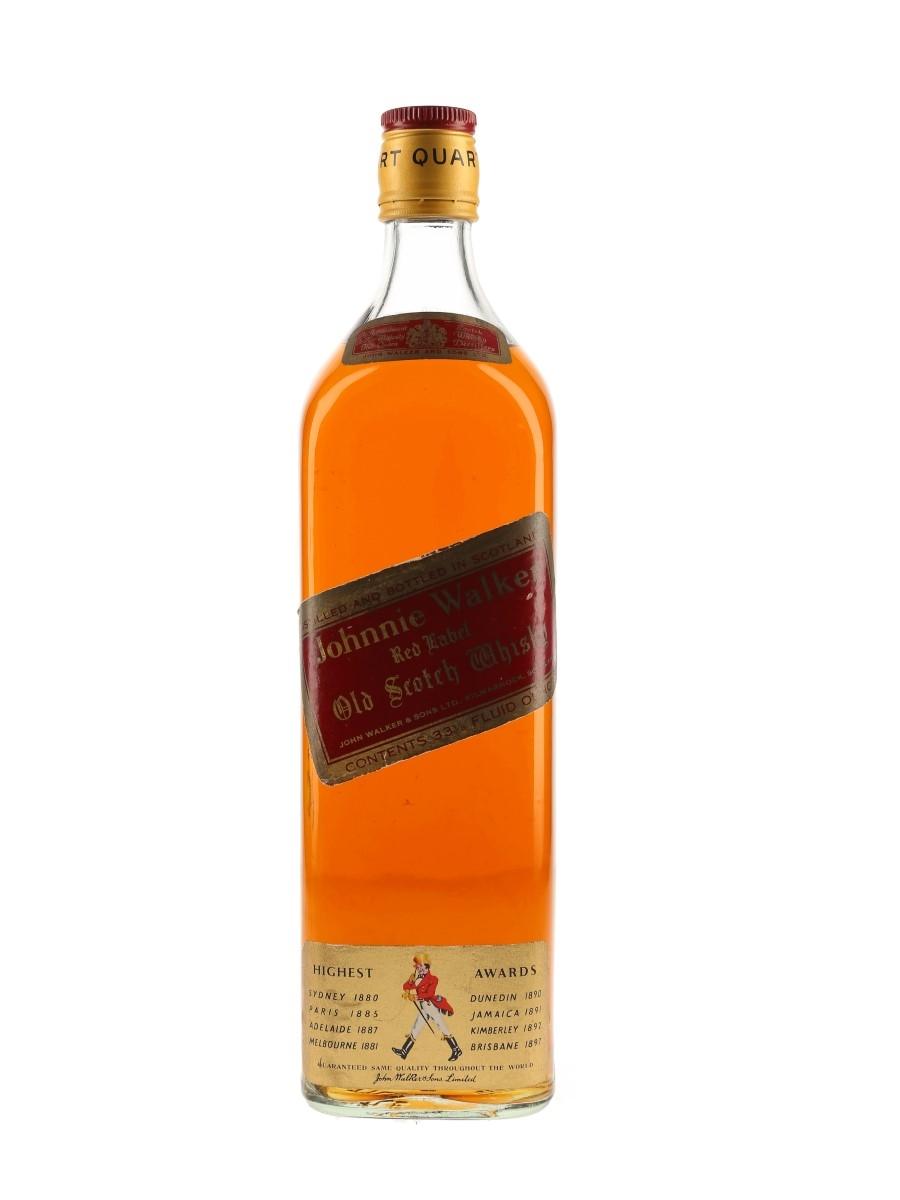Johnnie Walker Red Label Bottled 1970s 94.7cl
