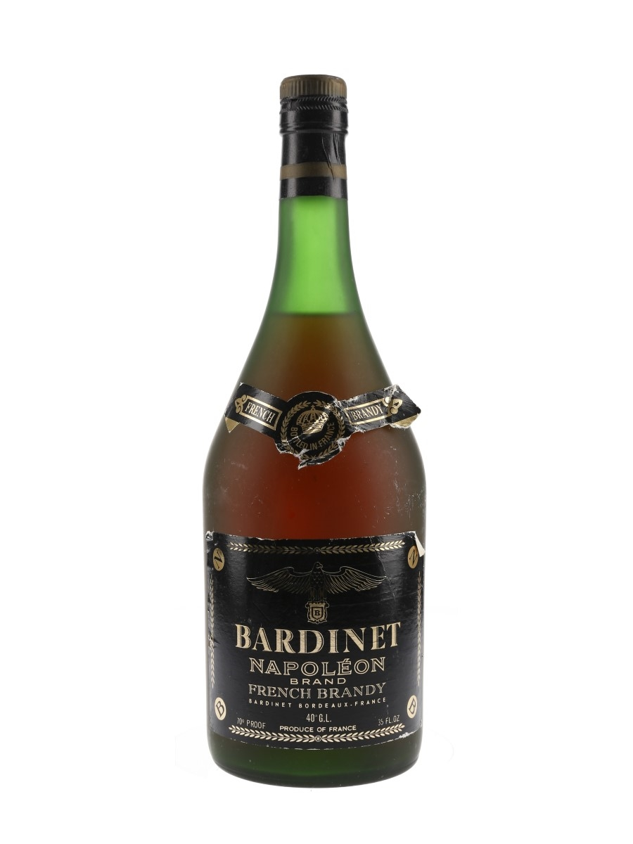 Bardinet Napoleon Brandy Bottled 1980s 99.4cl / 40%
