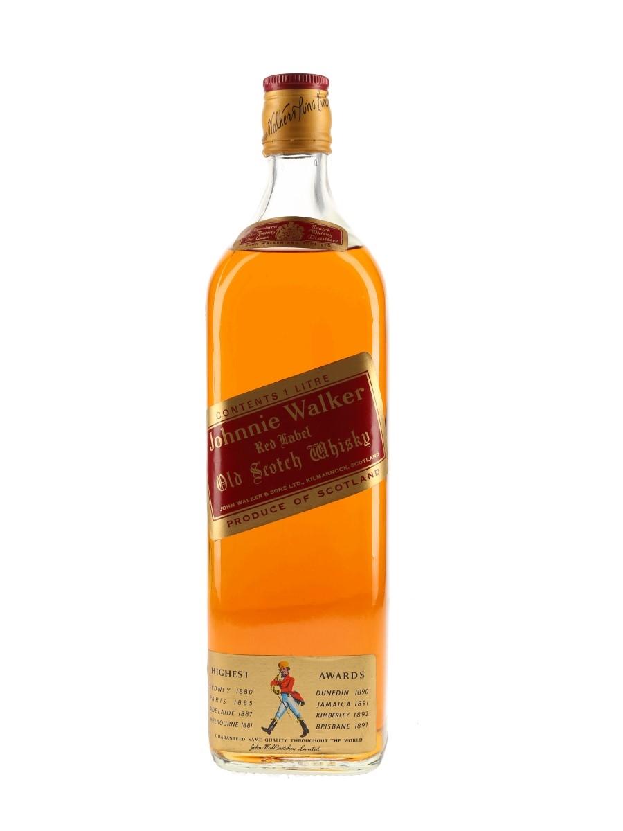 Johnnie Walker Red Label Bottled 1970s 100cl / 40%