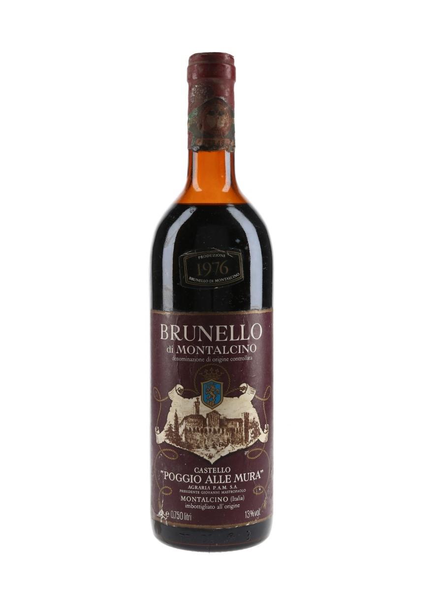 Brunello Di Montalcino 1976 Castello Poggio Alle Mura 75cl / 13%