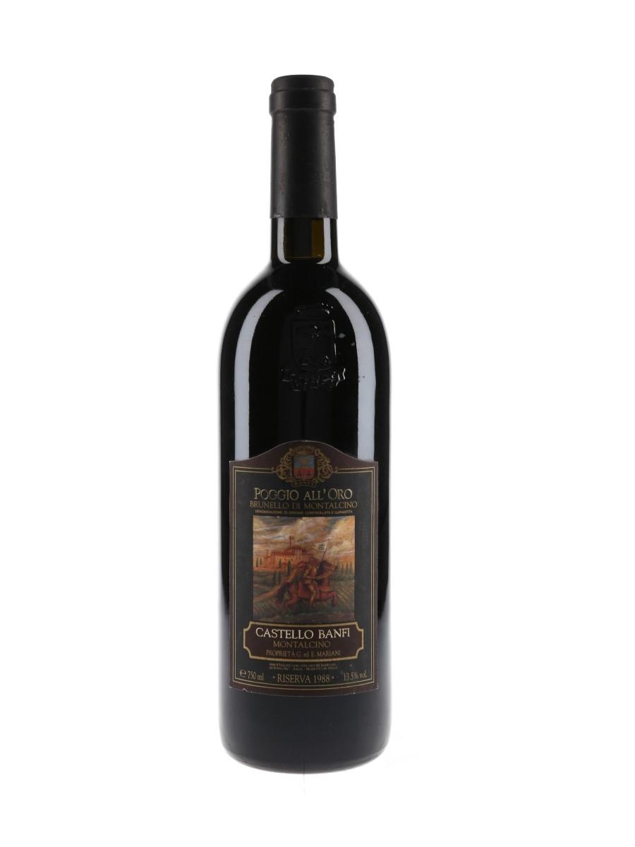 Brunello Di Montalcino Riserva 1988 Castello Banfi 75cl / 13.5%