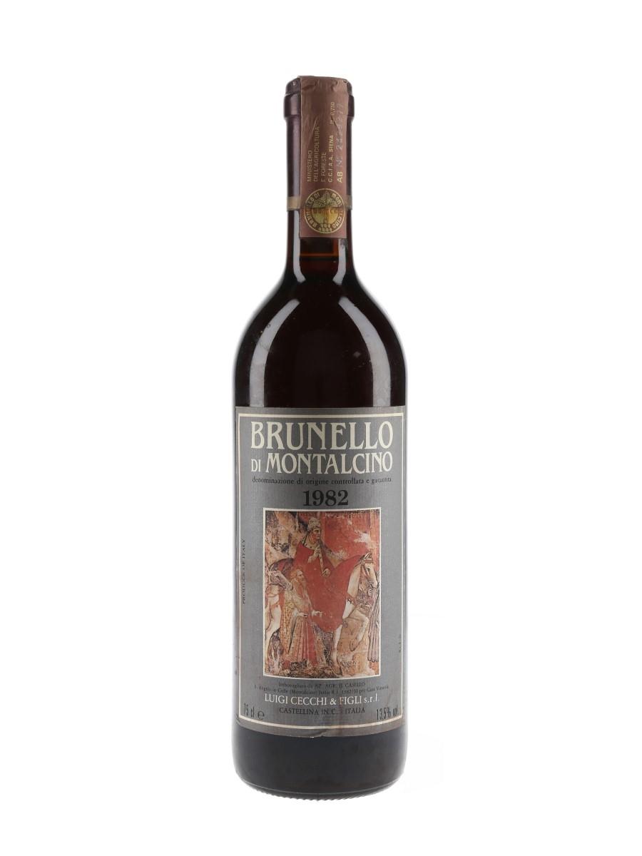Luigi Cecchi 1982 Brunello Di Montalcino  75cl / 13.5%