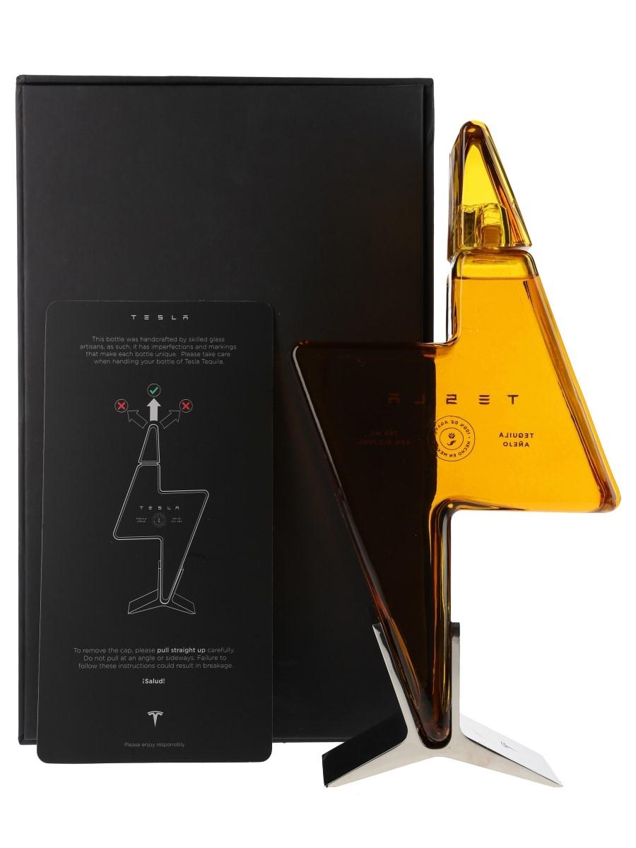 Tesla Tequila Anejo Lot 110134 Buy Sell Spirits Online