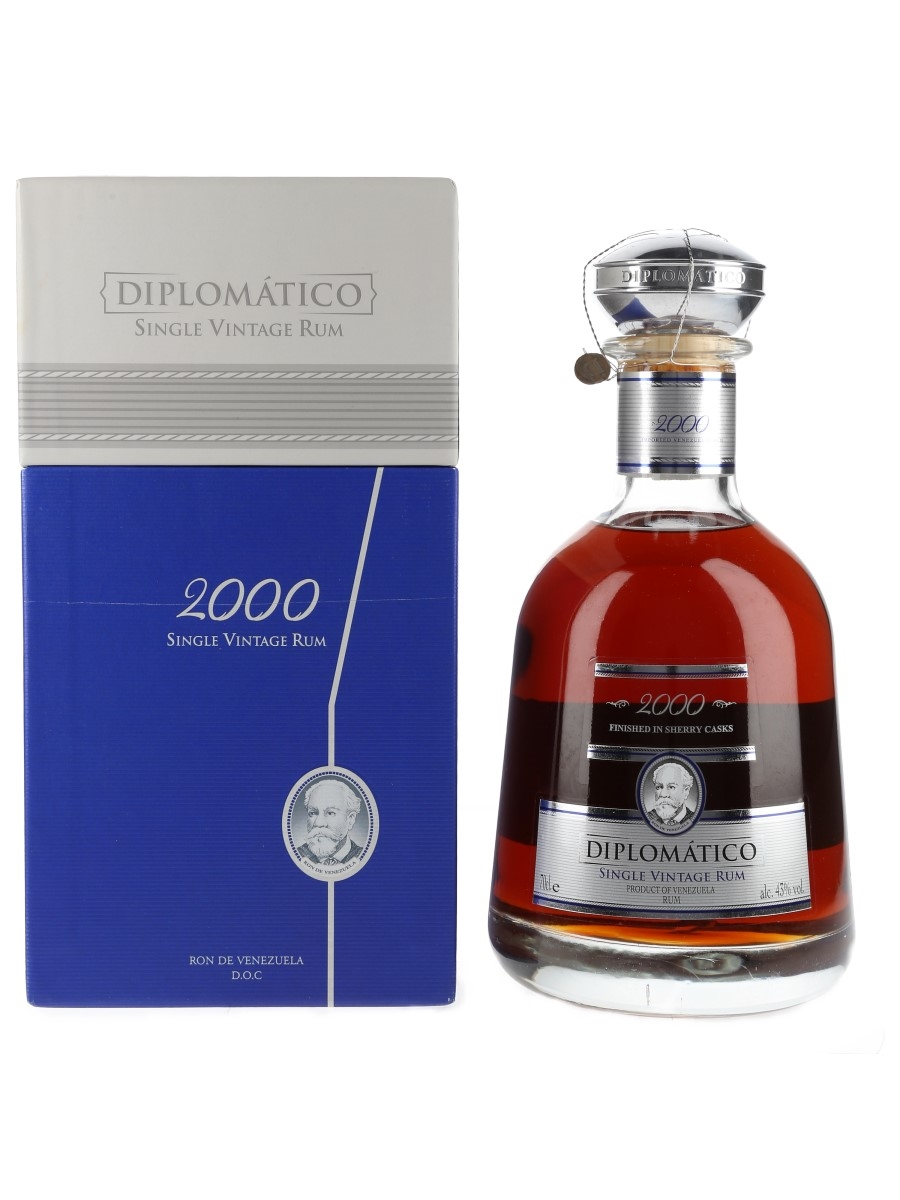 Diplomatico Single Vintage 2000 Rum Speciality Brands 70cl / 43%