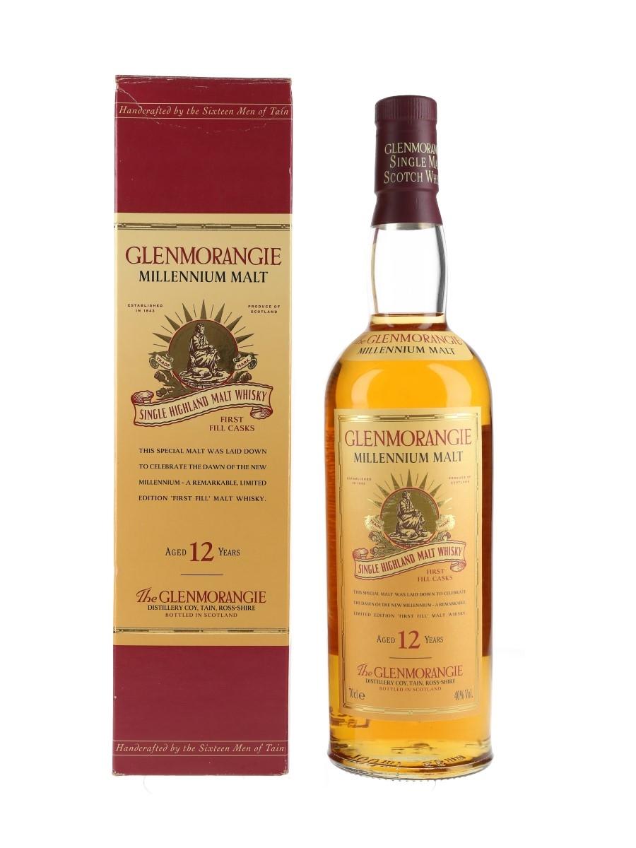 Glenmorangie 12 Year Old Millennium Malt Bottled 1990s 70cl / 40%