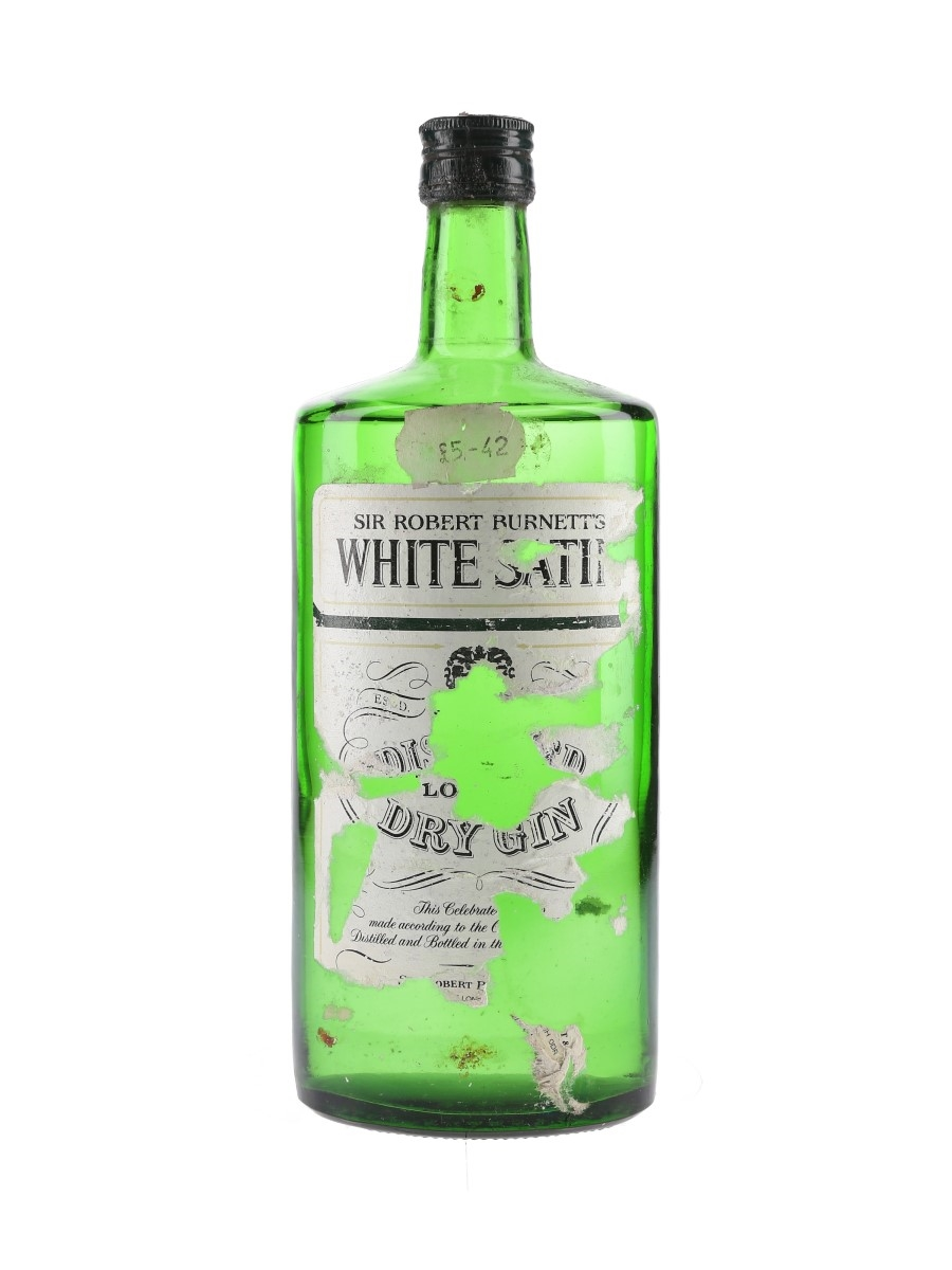 Sir Robert Burnett's White Satin Gin Bottled 1970s 75cl