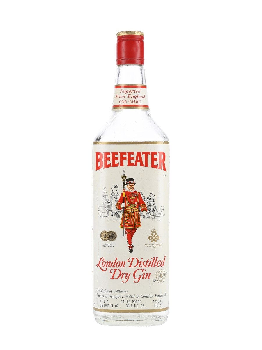 Beefeater London Distilled Dry Gin Bottled 1970s 100cl / 47%