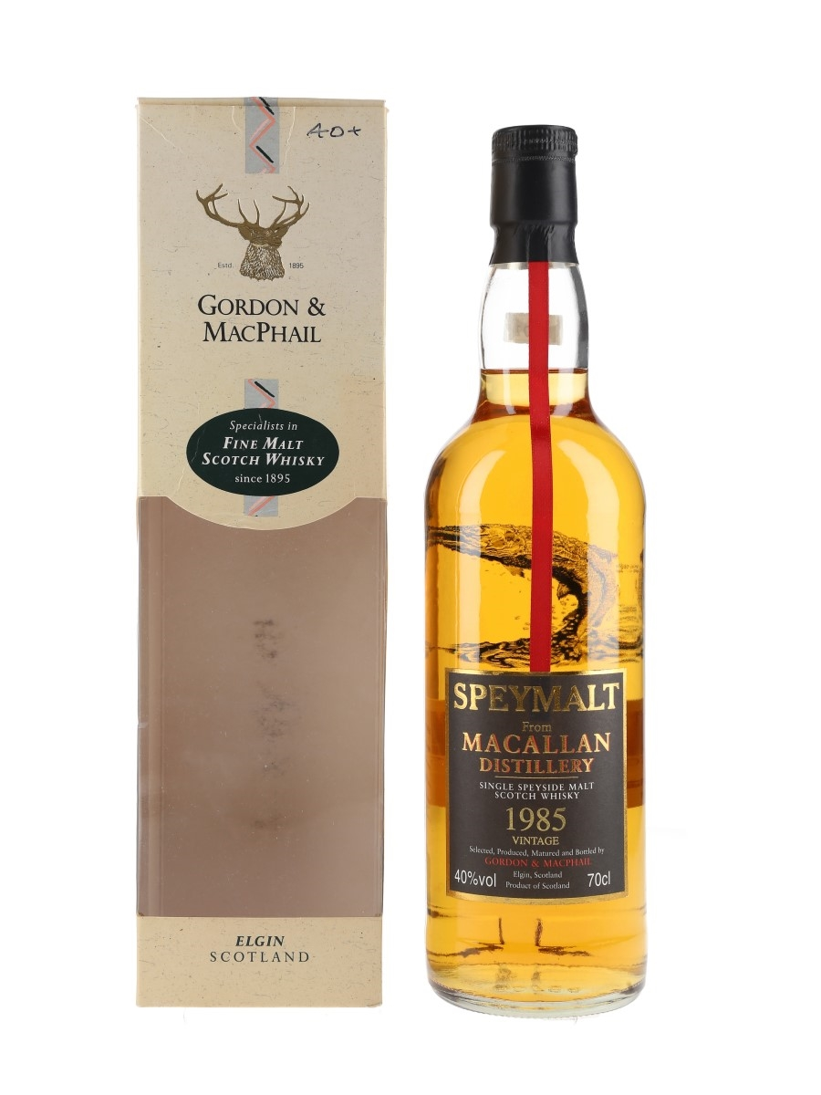 Macallan 1985 Speymalt Bottled 2002 - Gordon & MacPhail 70cl / 40%