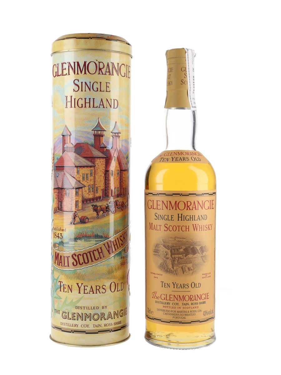 Glenmorangie 10 Year Old Bottled 1990s - 150th Anniversary 70cl / 43%