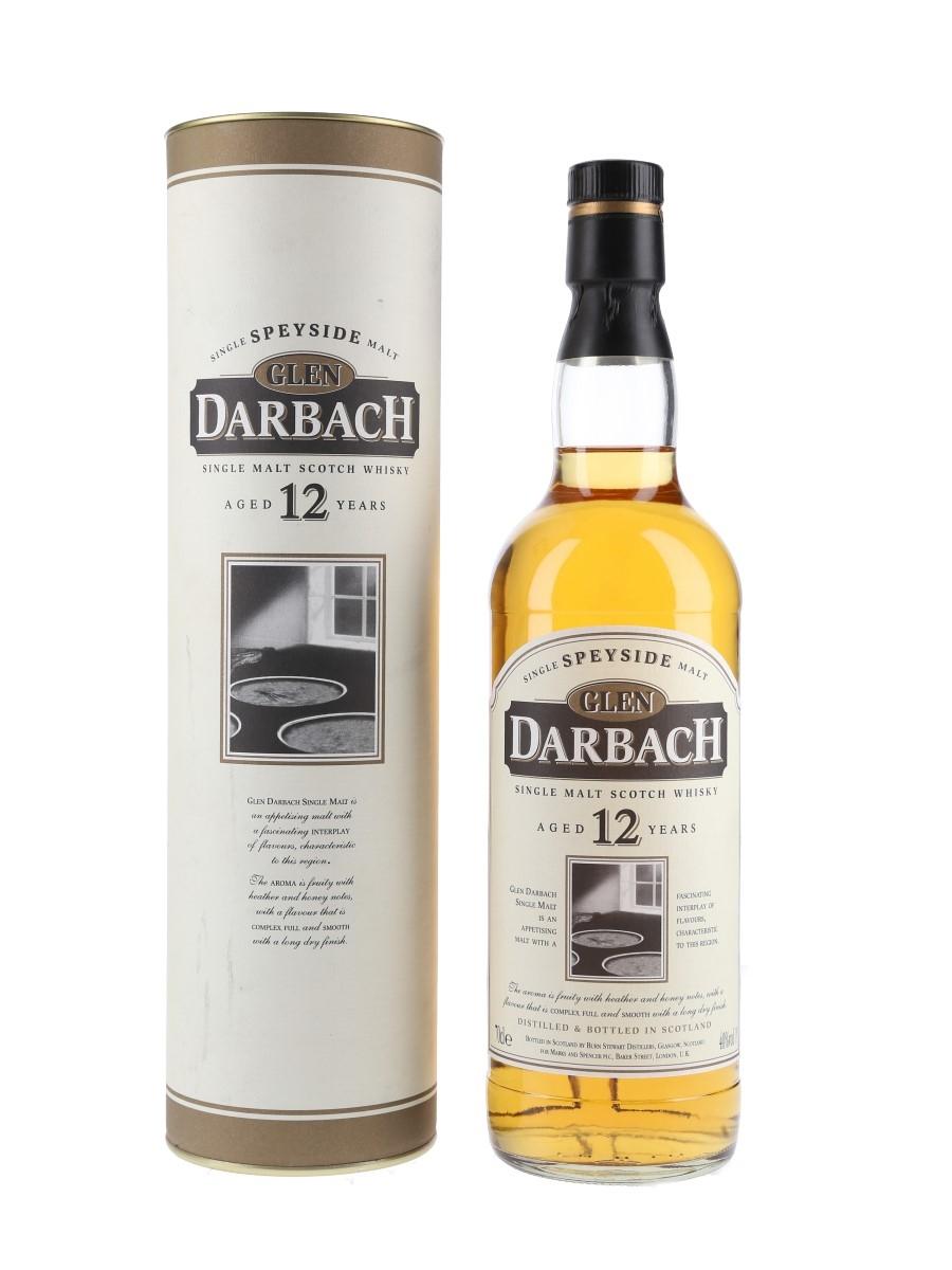 Glen Darbach 12 Year Old Marks & Spencer 70cl / 40%