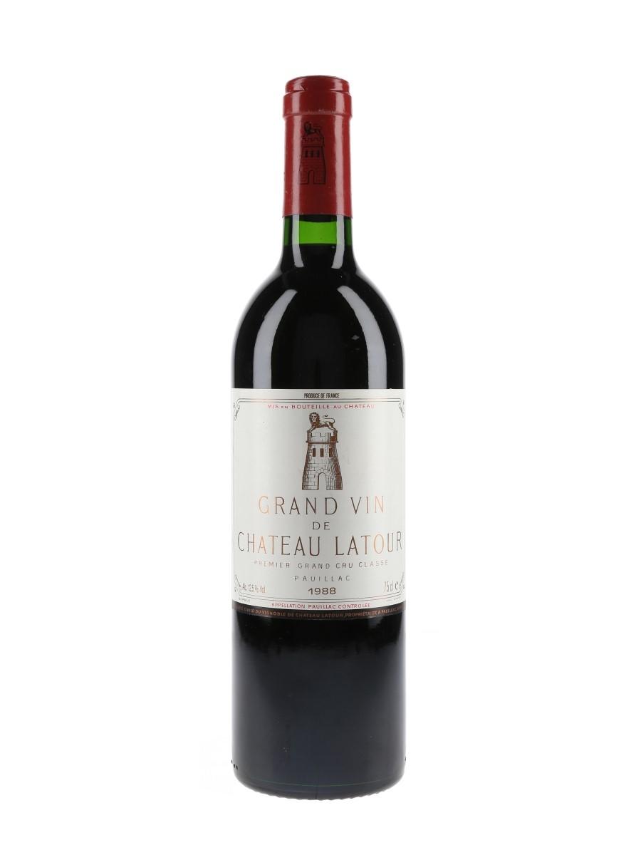 Chateau Latour 1988 Premier Grand Cru Classe - Pauillac 75cl / 12.5%