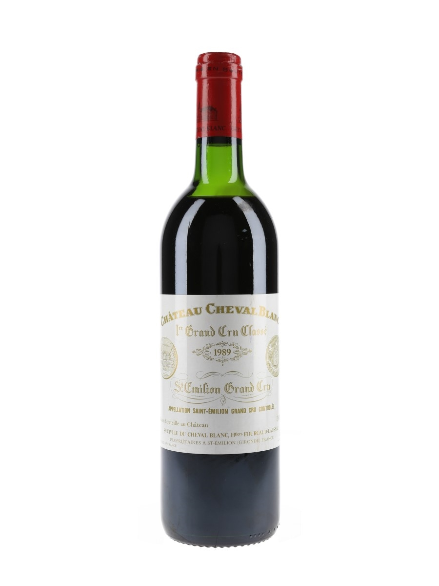 Chateau Cheval Blanc 1989 Saint Emilion 1er Grand Cru Classe 75cl / 13%