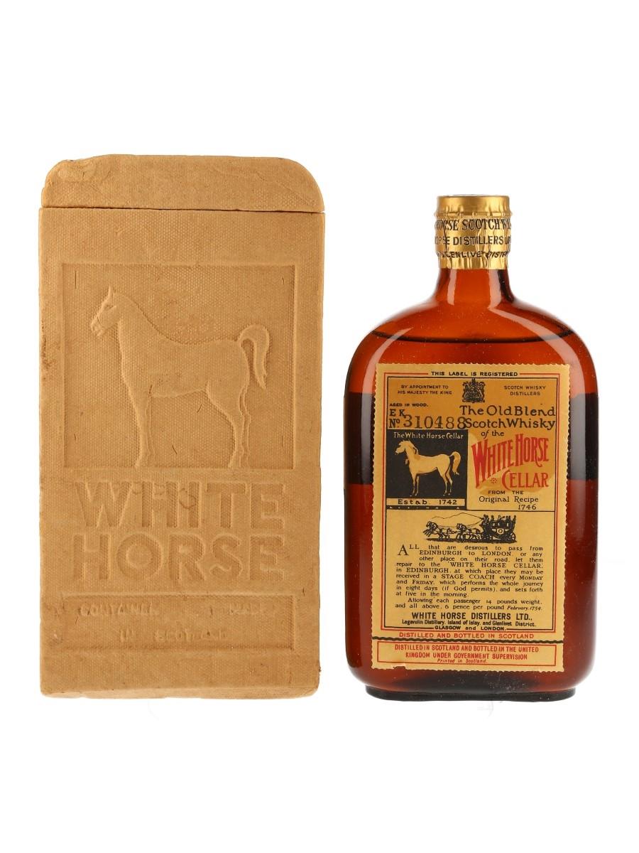 White Horse Bottled 1950s 37.8cl / 40%