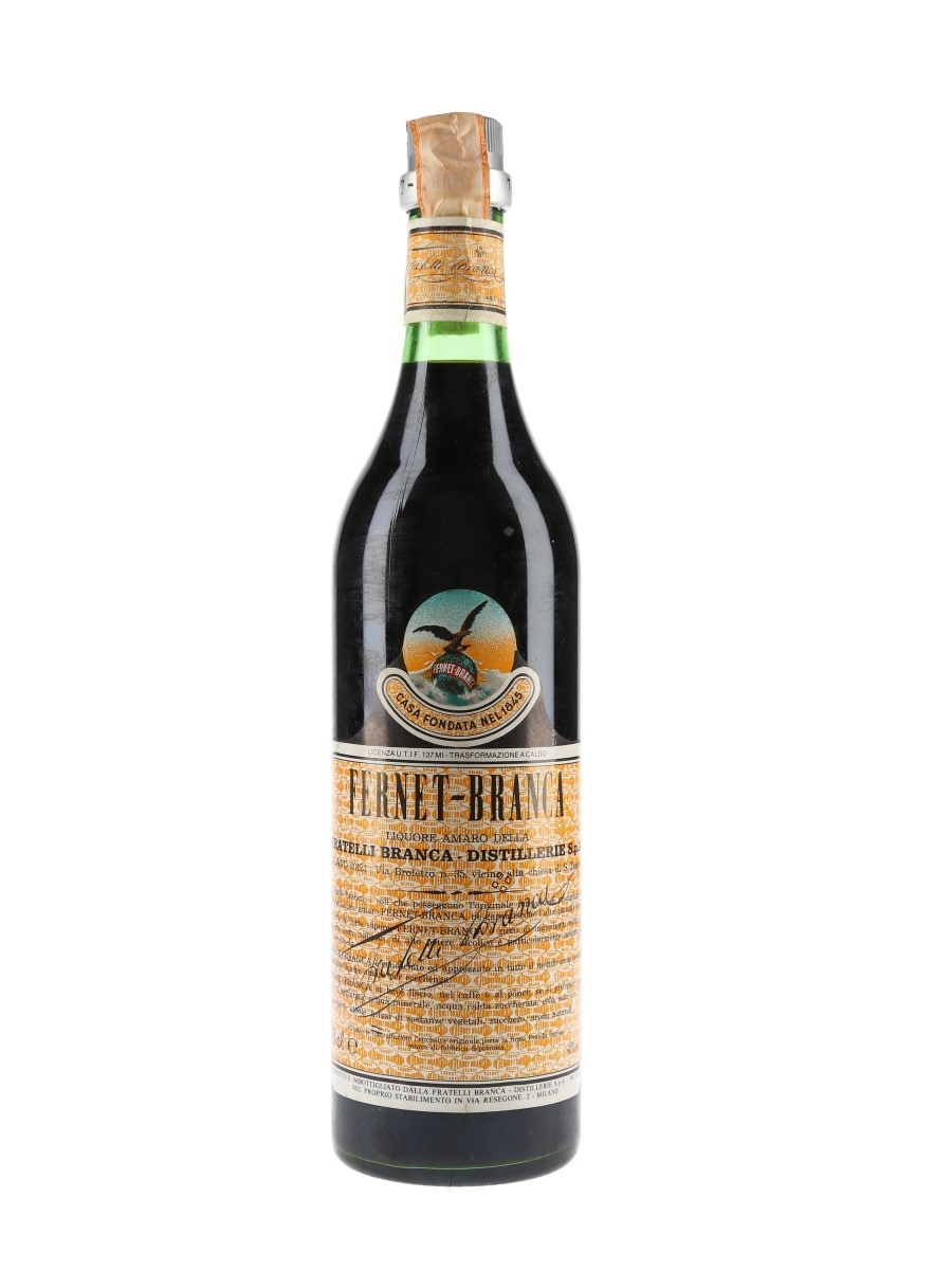Fernet Branca Bottled 1985 75cl / 45%