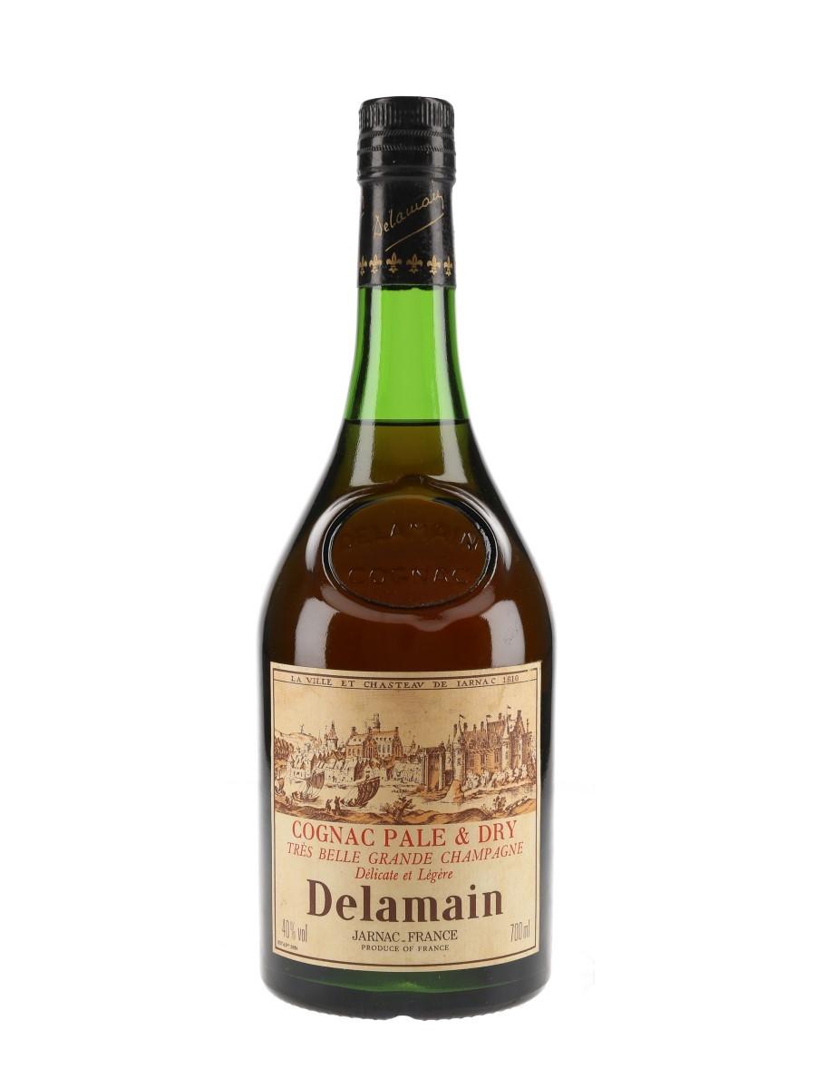 Delamain Pale & Dry Bottled 1970s 70cl / 40%