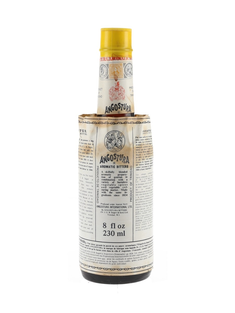 Angostura Aromatic Bitters Bottled 1970s-1980s 23cl / 44.7%