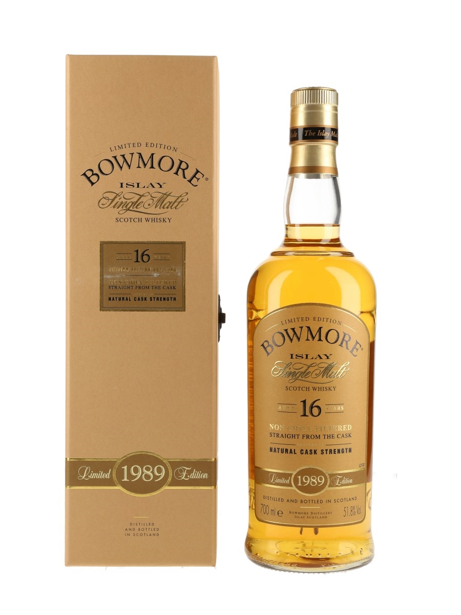 Bowmore 1989 Limited Edition 16 Year Old 70cl / 51.8%