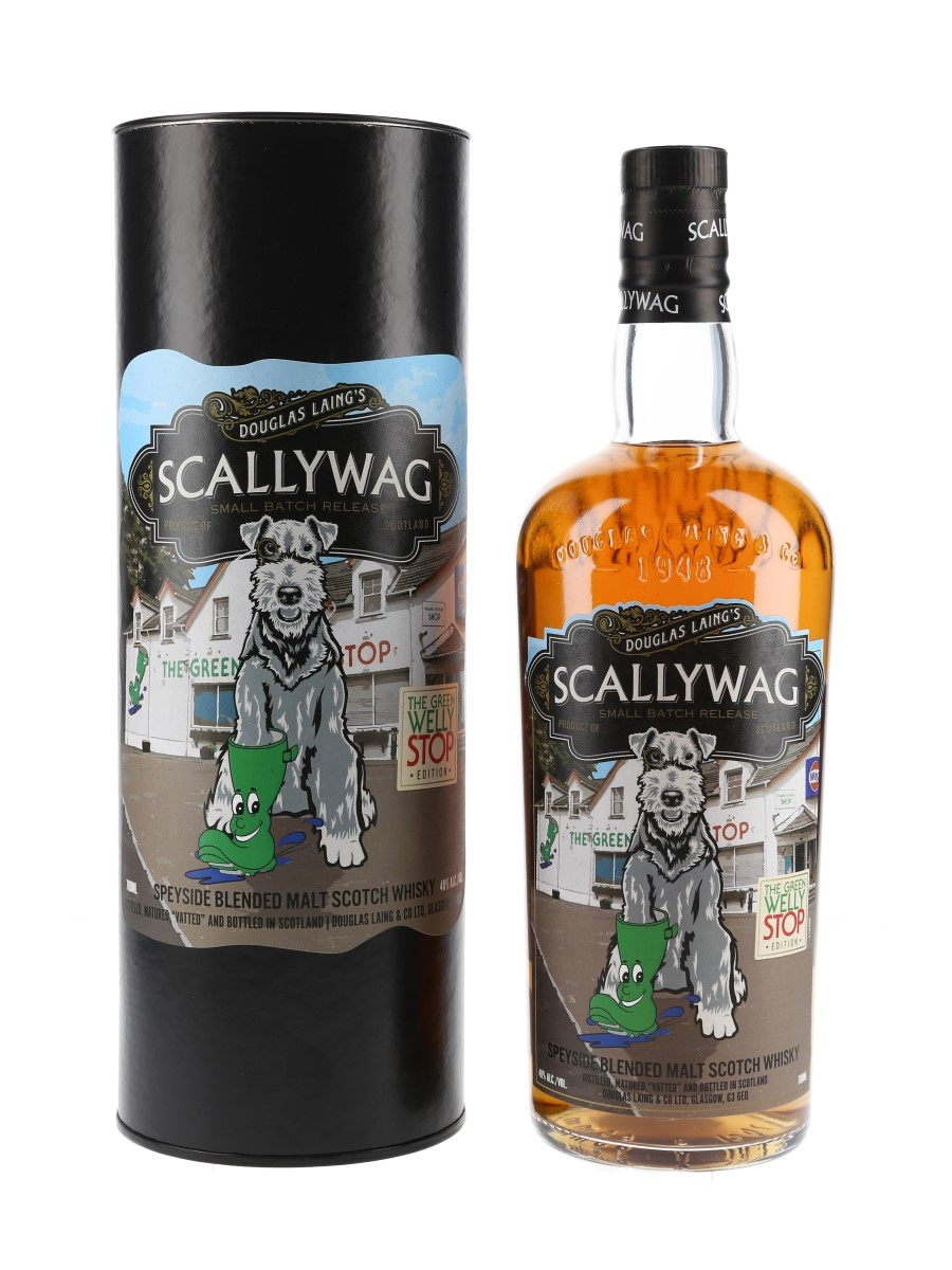 Scallywag Speyside Blended Malt Green Welly Stop Edition 70cl / 46%