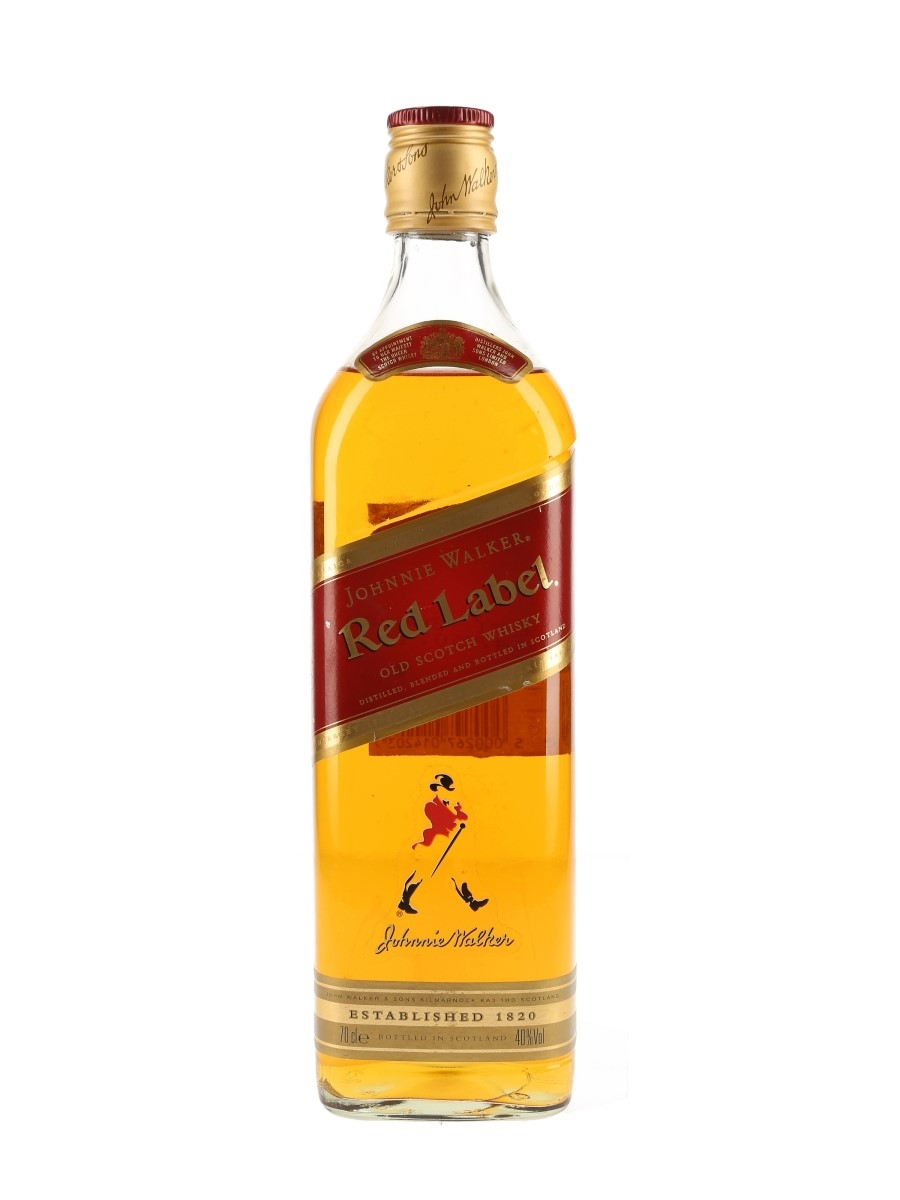 Johnnie Walker Red Label Bottled 2000s 70cl / 40%