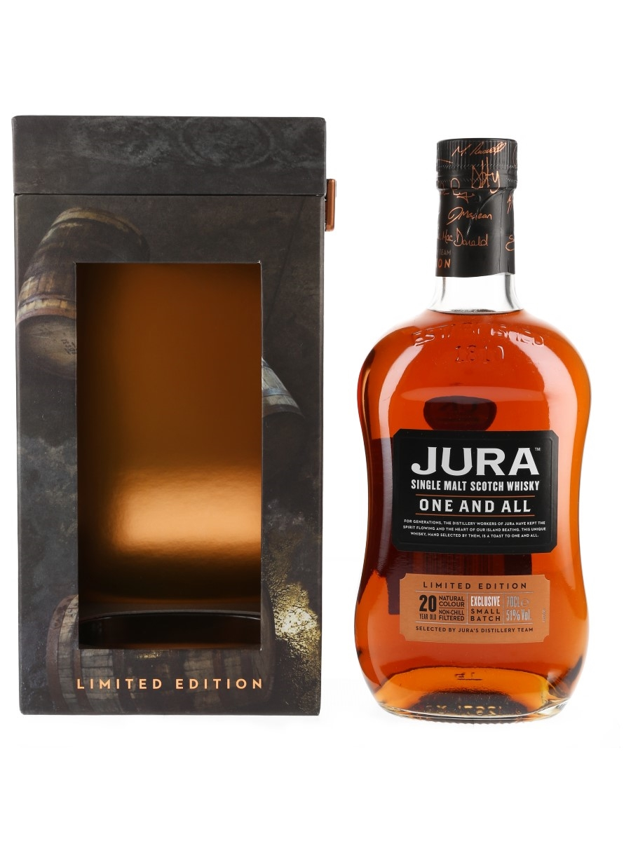 Jura 20 Year Old One And All Bottled 2017 70cl / 51%