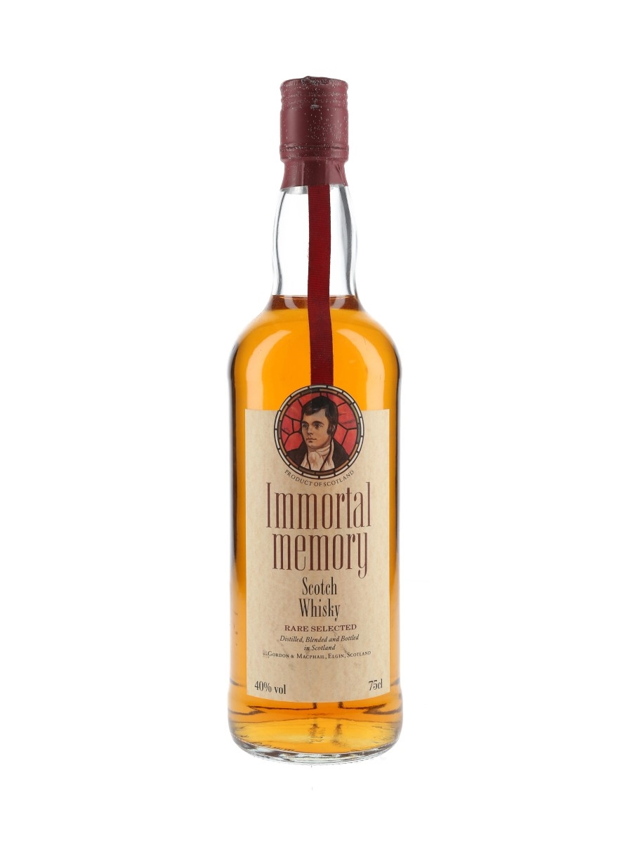 Immortal Memory Rare Selected Scotch Whisky  75cl / 40%