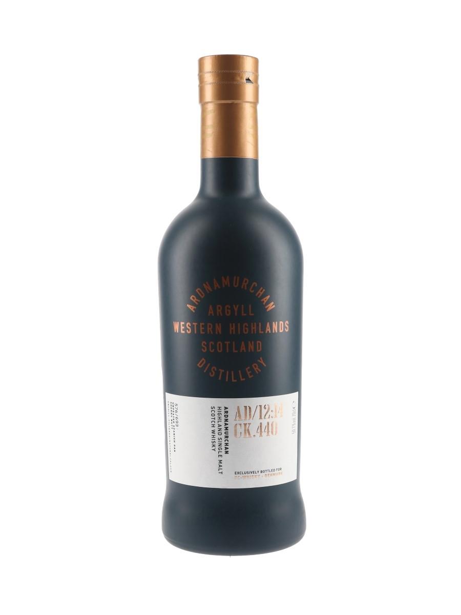 Ardnamurchan Single Cask AD:12:14 CK.440 FC Whisky - Denmark 70cl / 59.1%