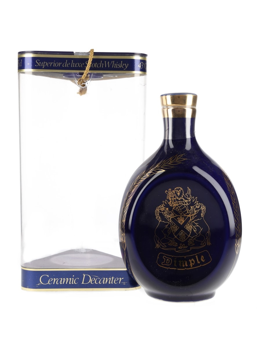 Dimple 12 Year Old Ceramic Decanter Bottled 1980s 75cl / 43%