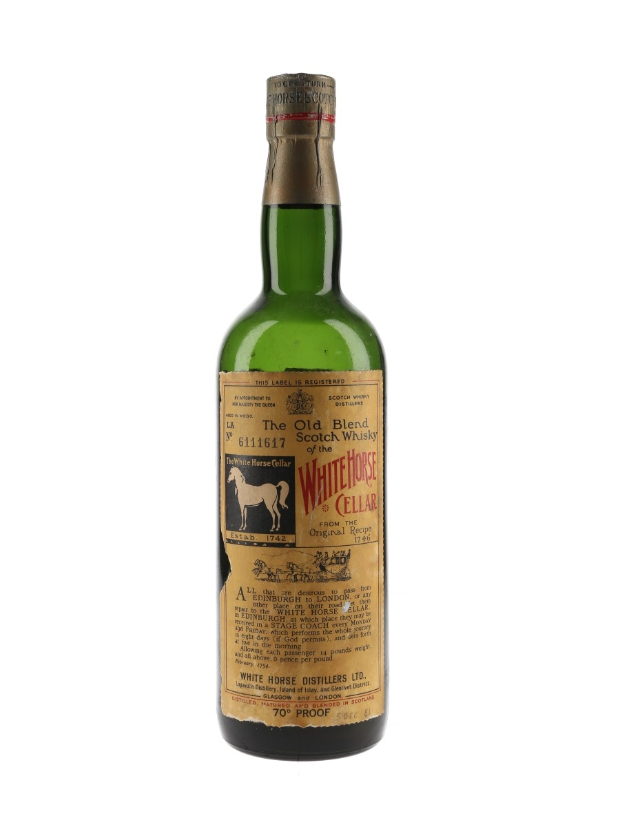 White Horse Bottled 1960s 75cl / 40%