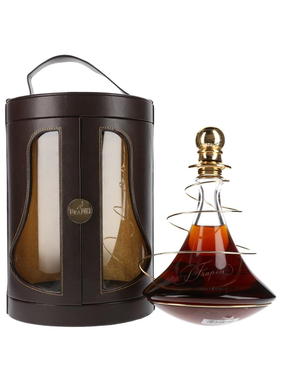 Frapin Cuvee 1888 Cognac Cristalleries Royales De Champagne - Crystal Decanter 70cl / 40%
