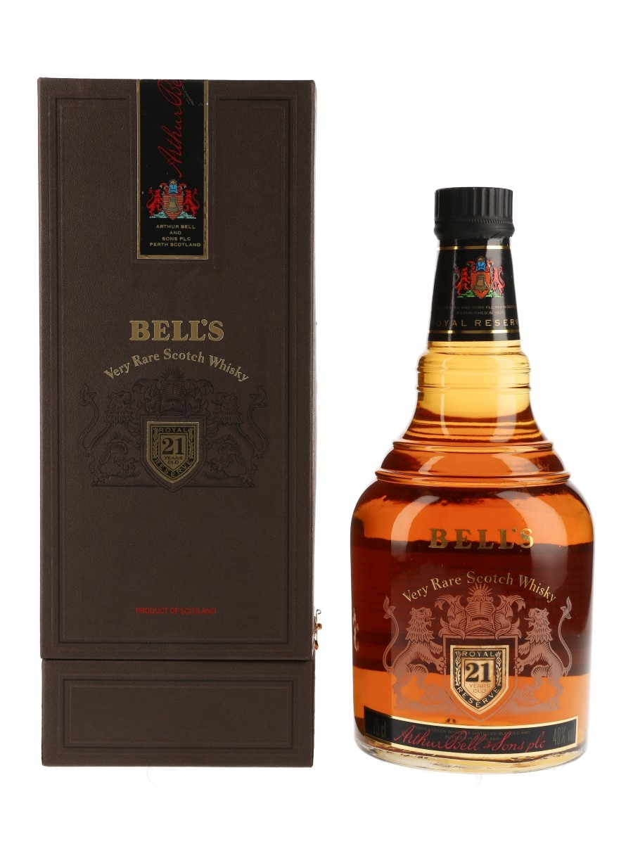 Bell's 21 Year Old Royal Reserve Bottled 1980s 75cl / 40%