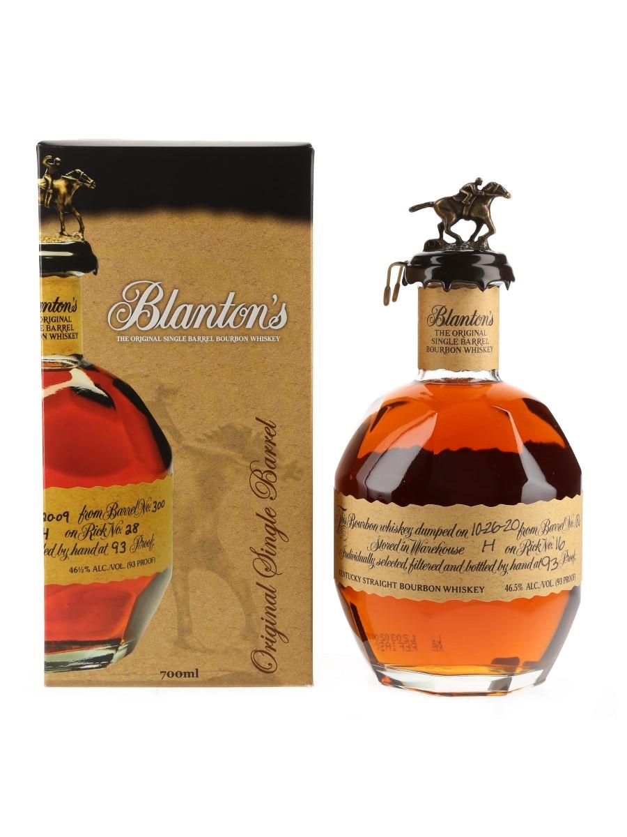 Blanton's Original Single Barrel No.186 Bottled 2020 70cl / 46.5%