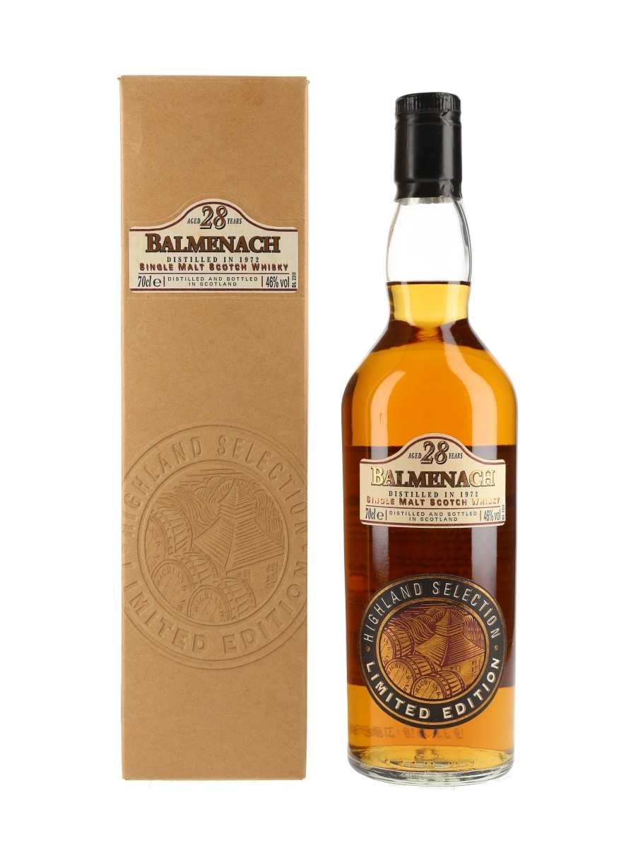 Balmenach 1972 28 Year Old  70cl / 46%