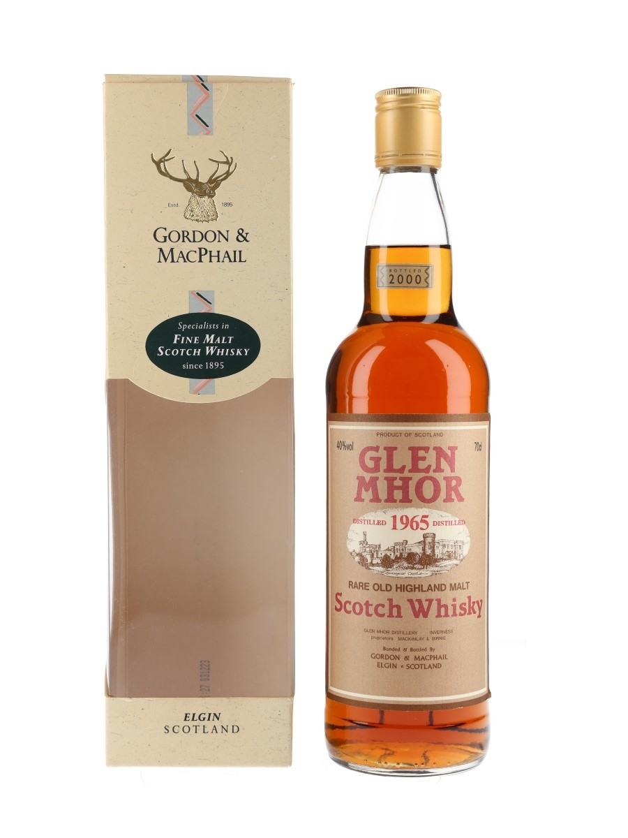 Glen Mhor 1965 Bottled 2000 - Gordon & MacPhail 70cl / 40%