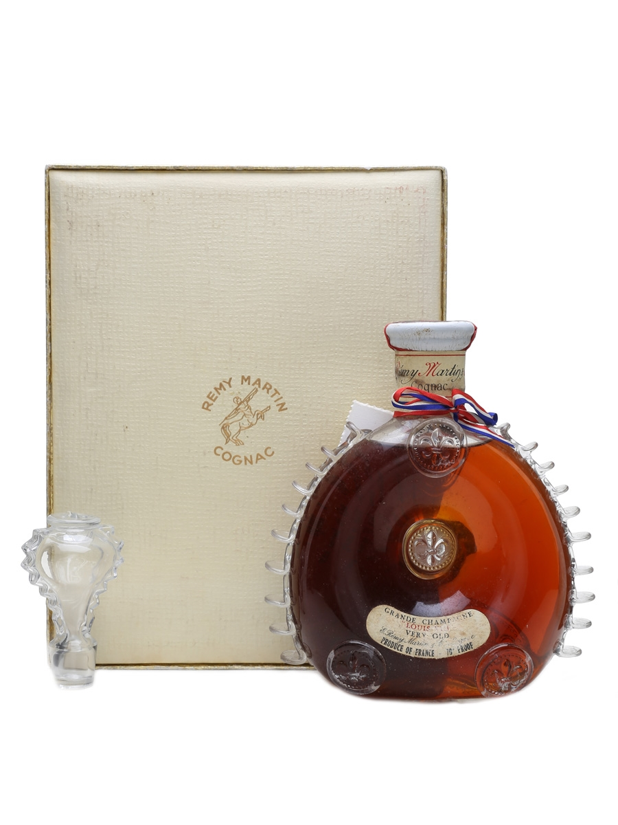 Remy Martin Louis XIII Cognac Baccarat Decanter Bottled 1962-1963 70cl / 40%