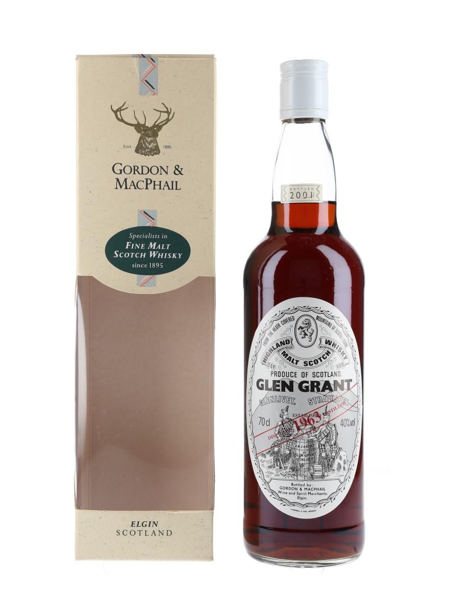 Glen Grant 1963 Bottled 2001 70cl / 40%