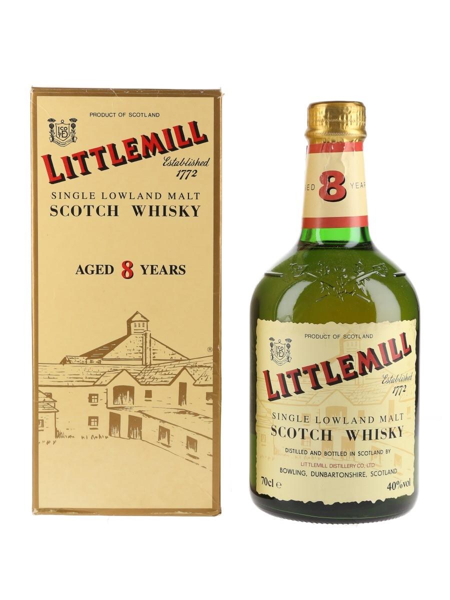 Littlemill 8 Year Old Bottled 1990s 70cl / 40%
