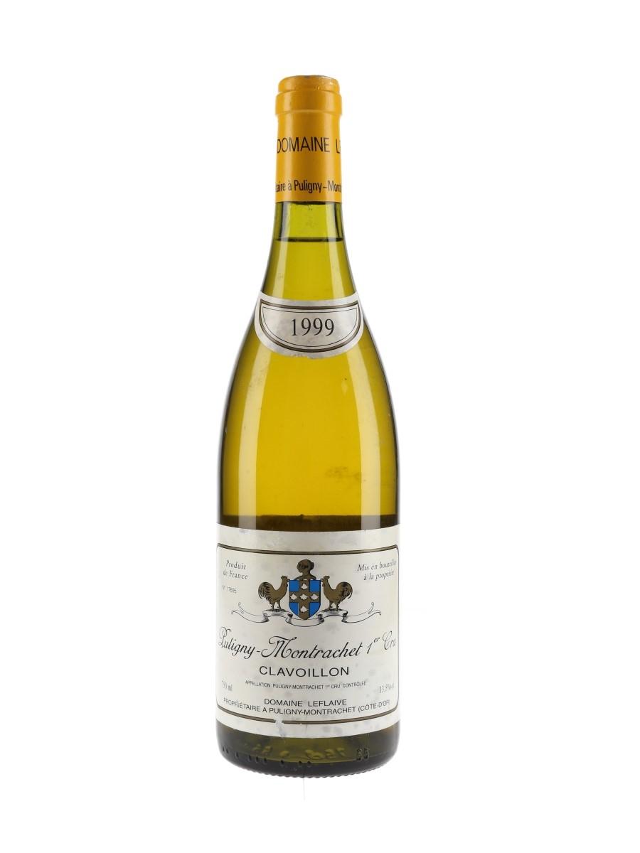 Puligny Montrachet 1999 Clavoillon Premier Cru - Domaine Leflaive 75cl / 13.5%