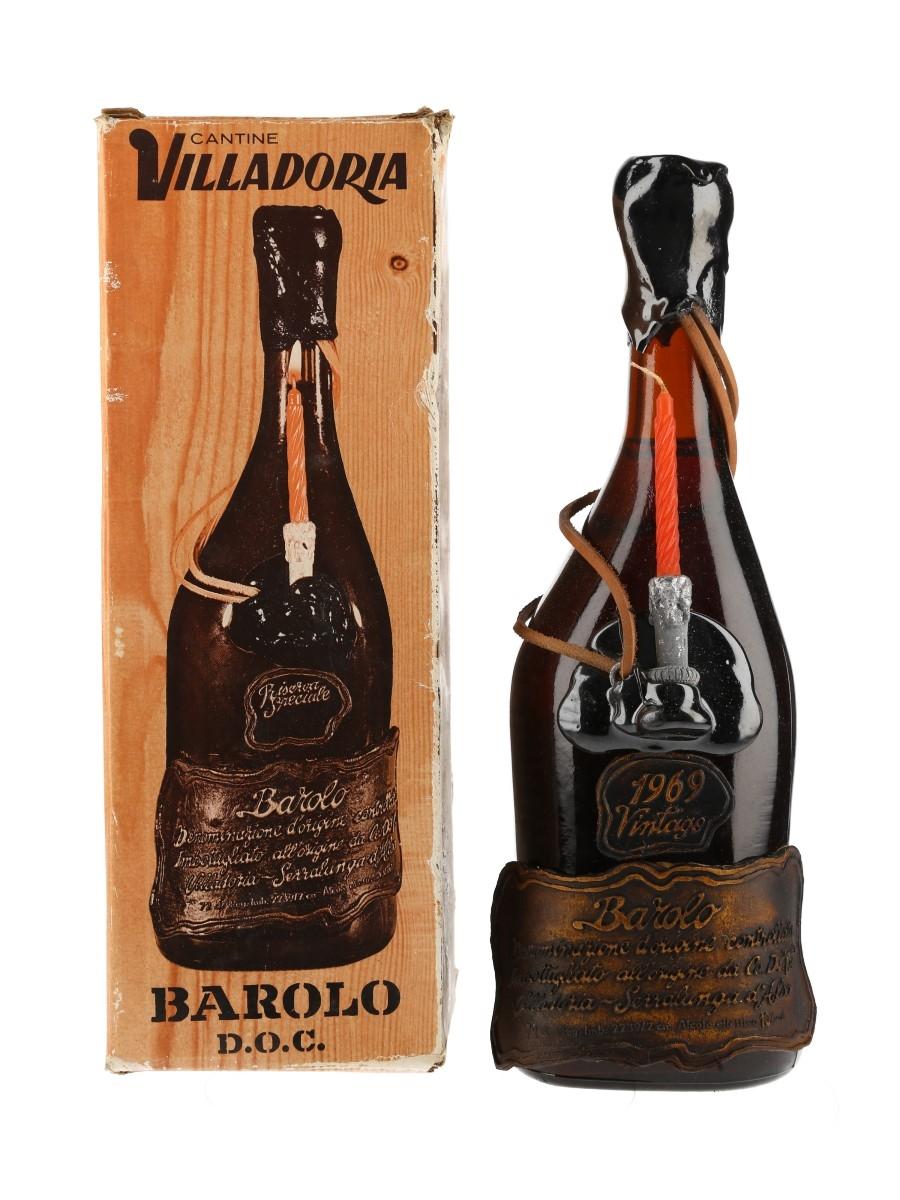 Barolo 1969 Riserva Speciale Cantine Villadoria 72cl / 13%