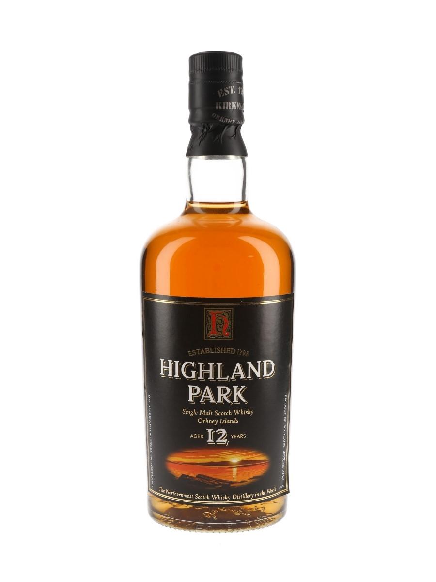 Highland Park 12 Year Old Bottled 2000s 70cl / 40%