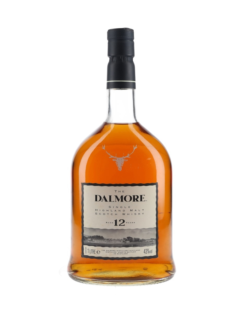 Dalmore 12 Year Old Bottled 1990s-2000s 100cl / 43%