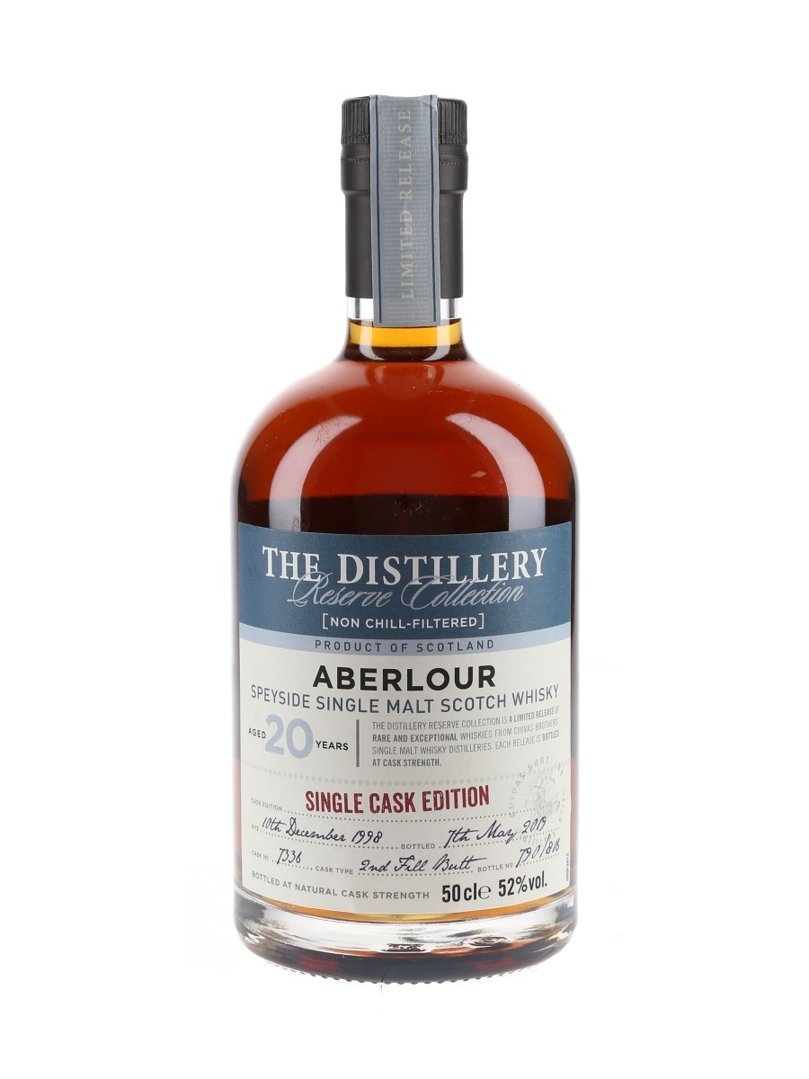 Aberlour 1998 20 Year Old The Distillery Reserve Collection Bottled 2019 - Chivas Brothers 50cl / 52%
