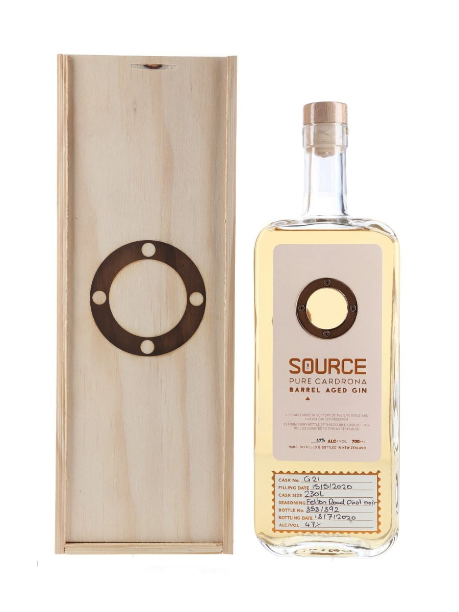 Cardrona The Source Barrel Aged Gin New Zealand 70cl / 47%