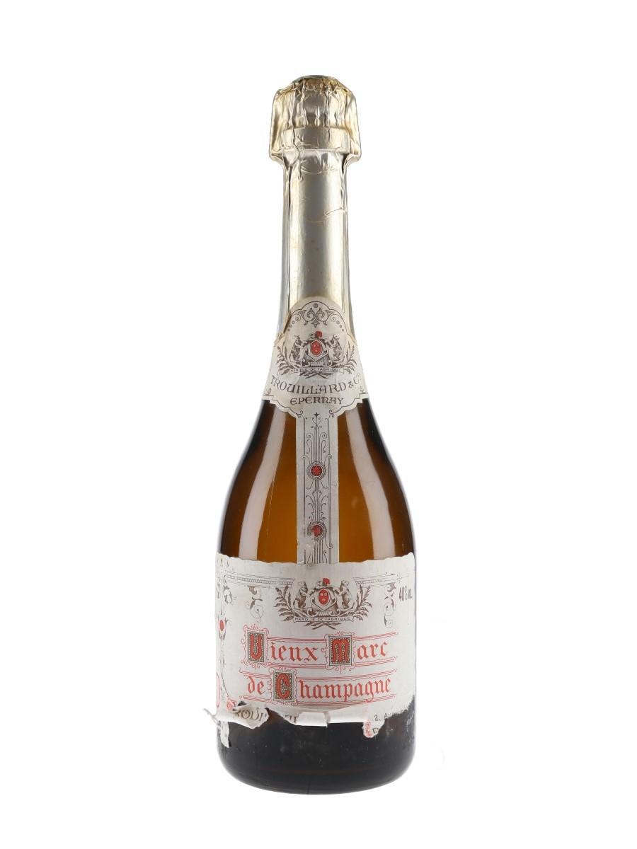 Trouillard & Co. Marc De Champagne Bottled 1990s 75cl / 40%