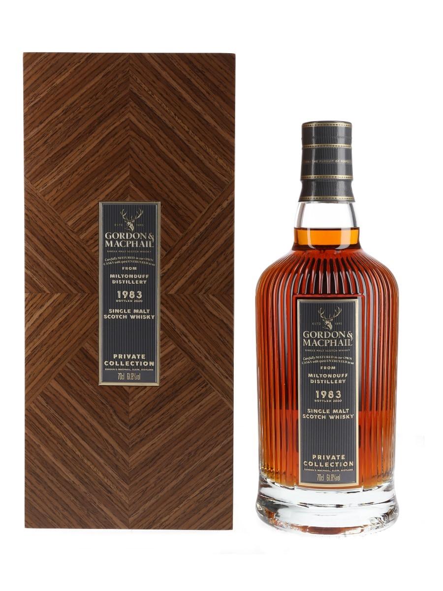 Miltonduff 1983 Private Collection Bottled 2020 - Gordon & MacPhail 70cl / 61.8%