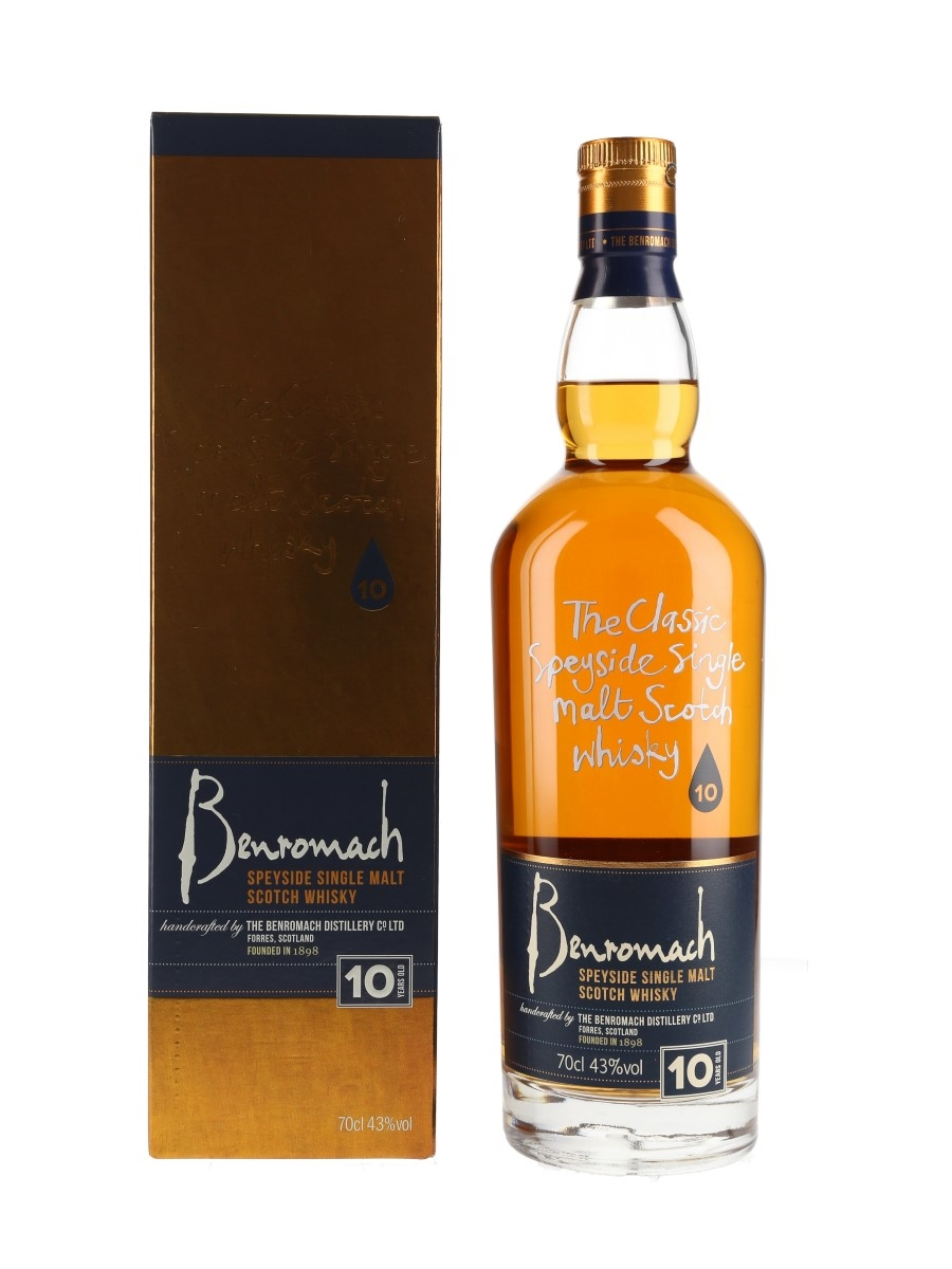 Benromach 10 Year Old  70cl / 43%