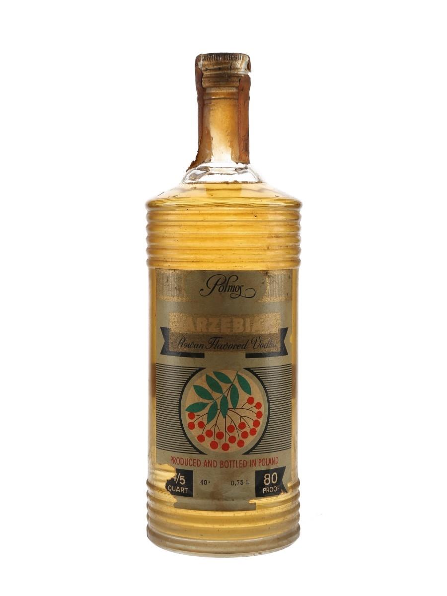 Polmos Jarzebiak Rowan Flavoured Vodka Bottled 1960s 75cl / 40%