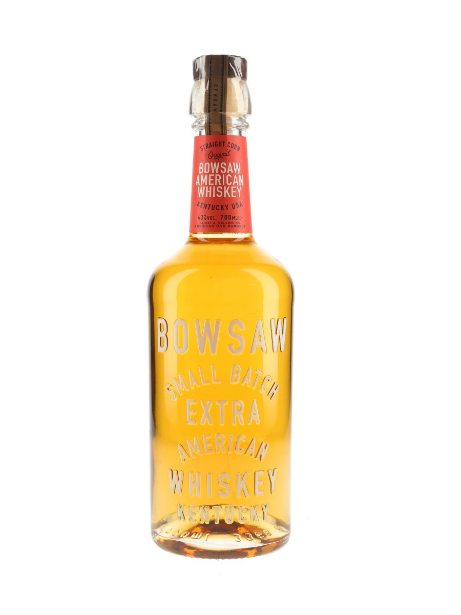 Bowsaw Small Batch 4 Year Old Extra American Whiskey  70cl / 43%